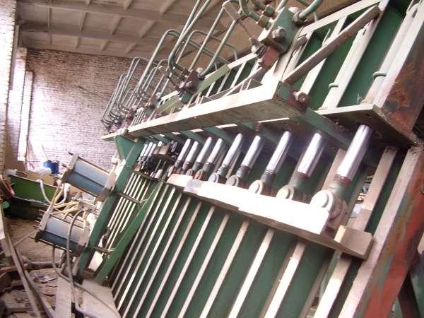 Пресс гидравлический для стенового бруса 13 м