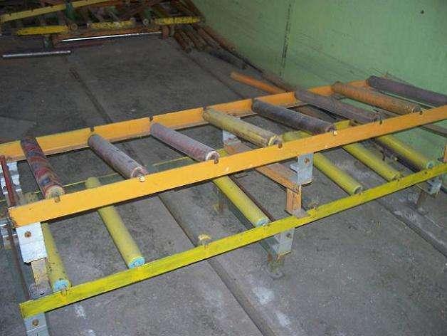 Рольганги напольные неприводные (ширина 600 мм)