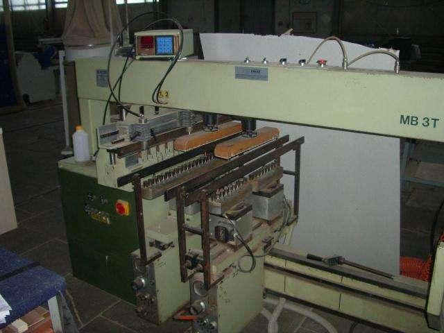 Сверлильно-присадочный автоматический станок SCM MB 3T