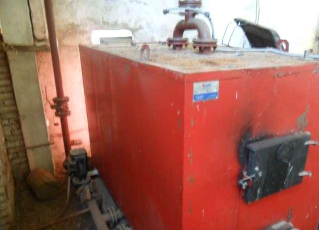 Котельная установка на древесных отходах для сушильной камеры