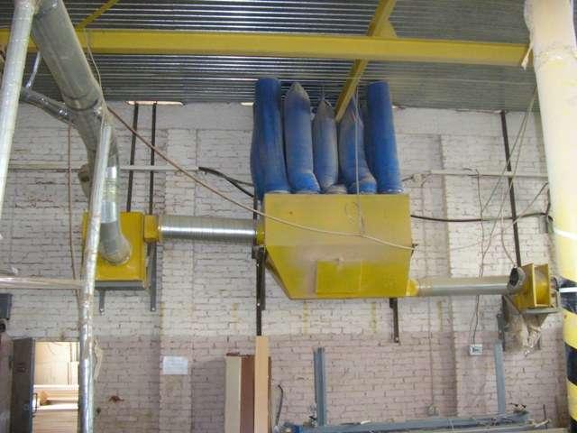 Пылеулавливающий агрегат ПУА 9000Б