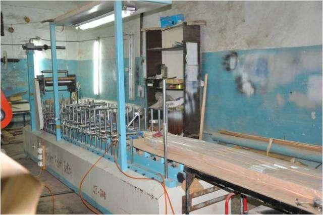 Линия окутывания погонажных изделий (Китай)