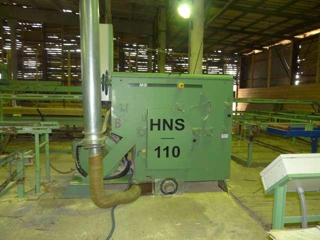 Многопильный круглопильный станок для распиловки бруса HNS-110