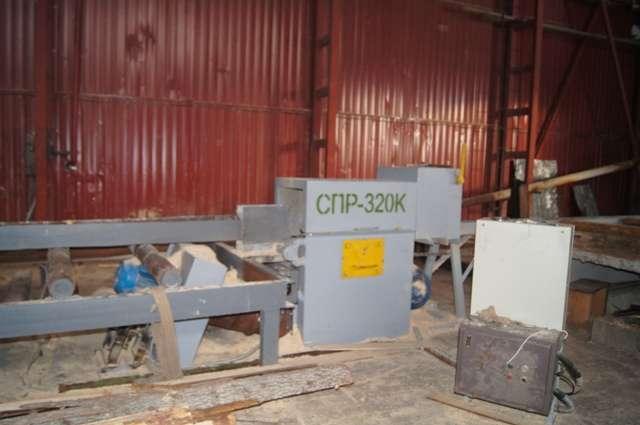 Бревнопильный дисковый станок СПР-320К (аналог ЦМКД-28А)