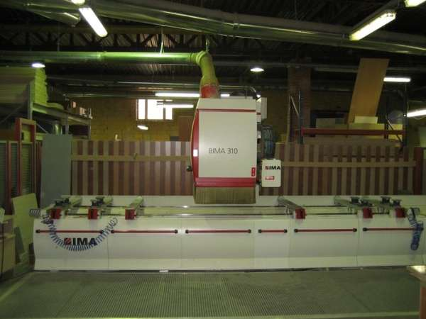 Деревообрабатывающий центр BIMA 310 120/500