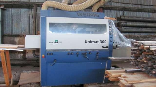 Четырехсторонний строгальный станок WEINIG UNIMAT 300