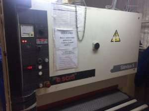 Станок калибровально-шлифовальный SCM Sandya 5 RCS 110