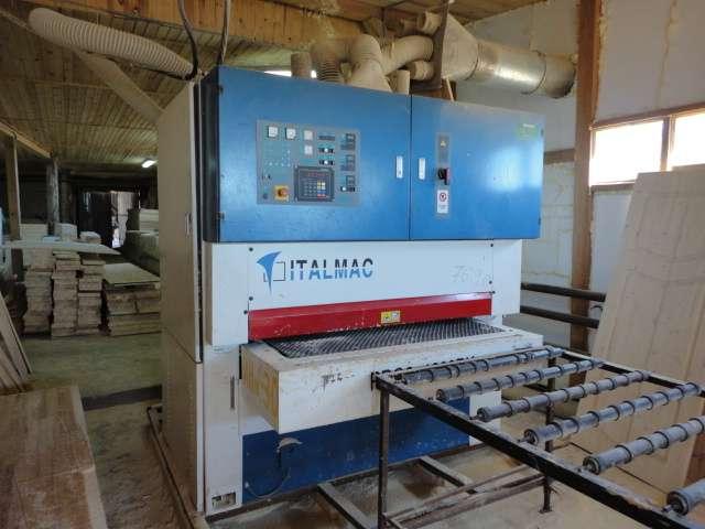 Шлифовально-калибровальный станок ITALMAC Silva 1300