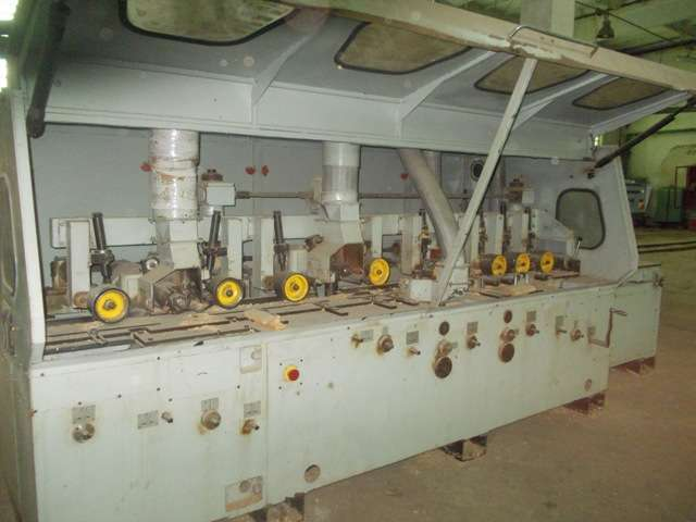Четырехсторонний станок ВШ-160-5С
