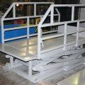 Подъемный гидравлический стол г/п 1.5 т, платформа 1.8 х 1.8 м