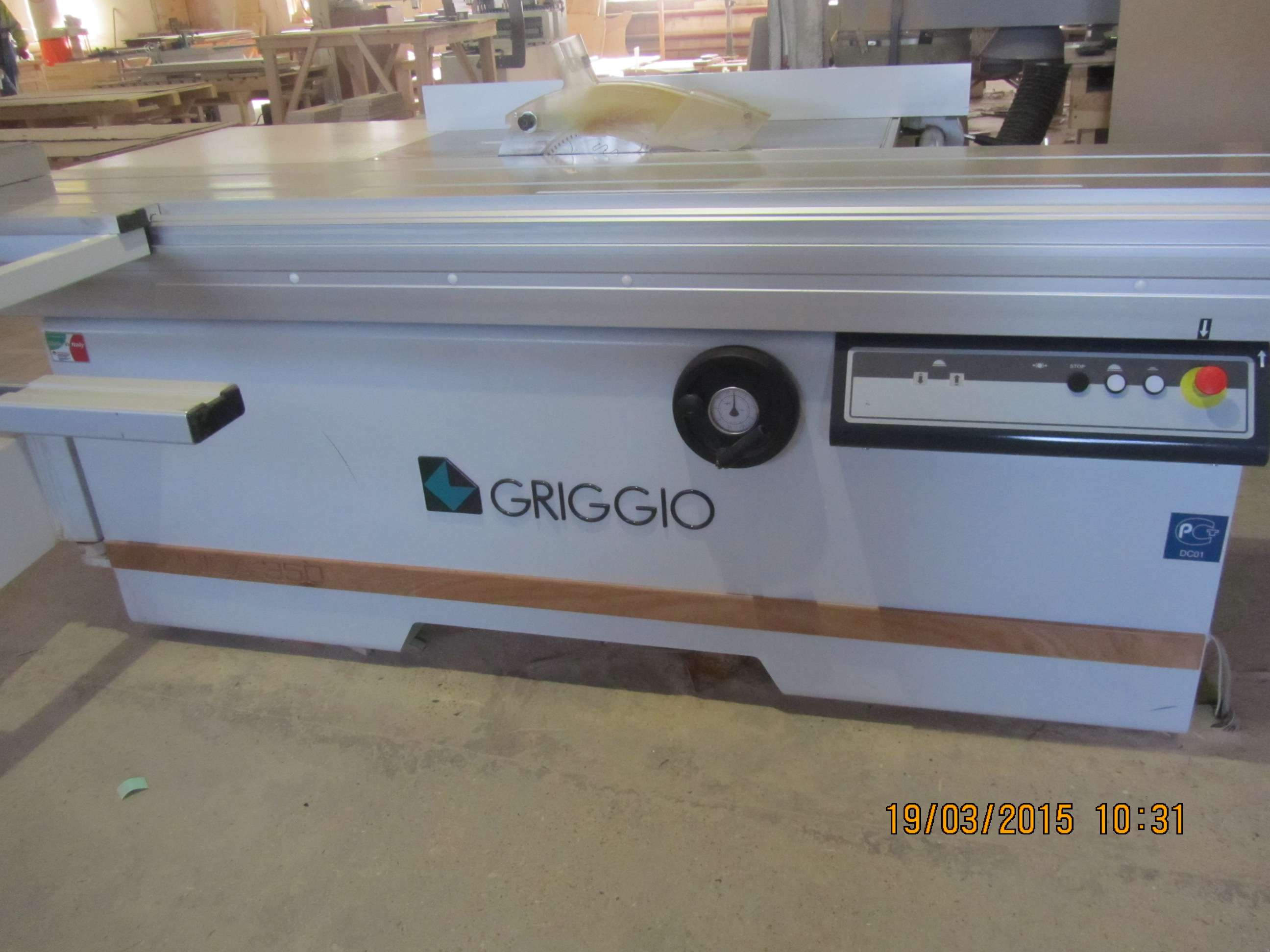 Форматно–раскроечный станок GRIGGIO UNICA 350