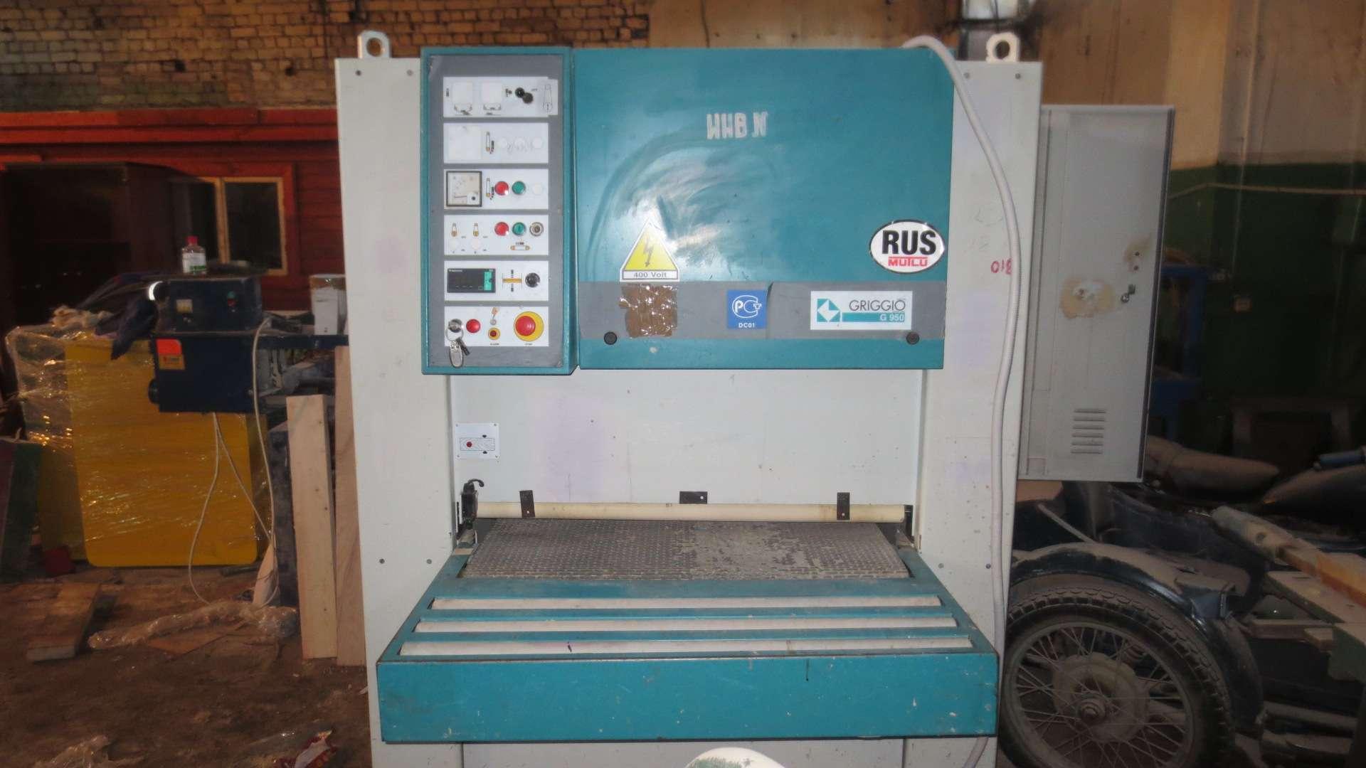 Калибровально-шлифовальный станок GRIGGIO G 950 2RR