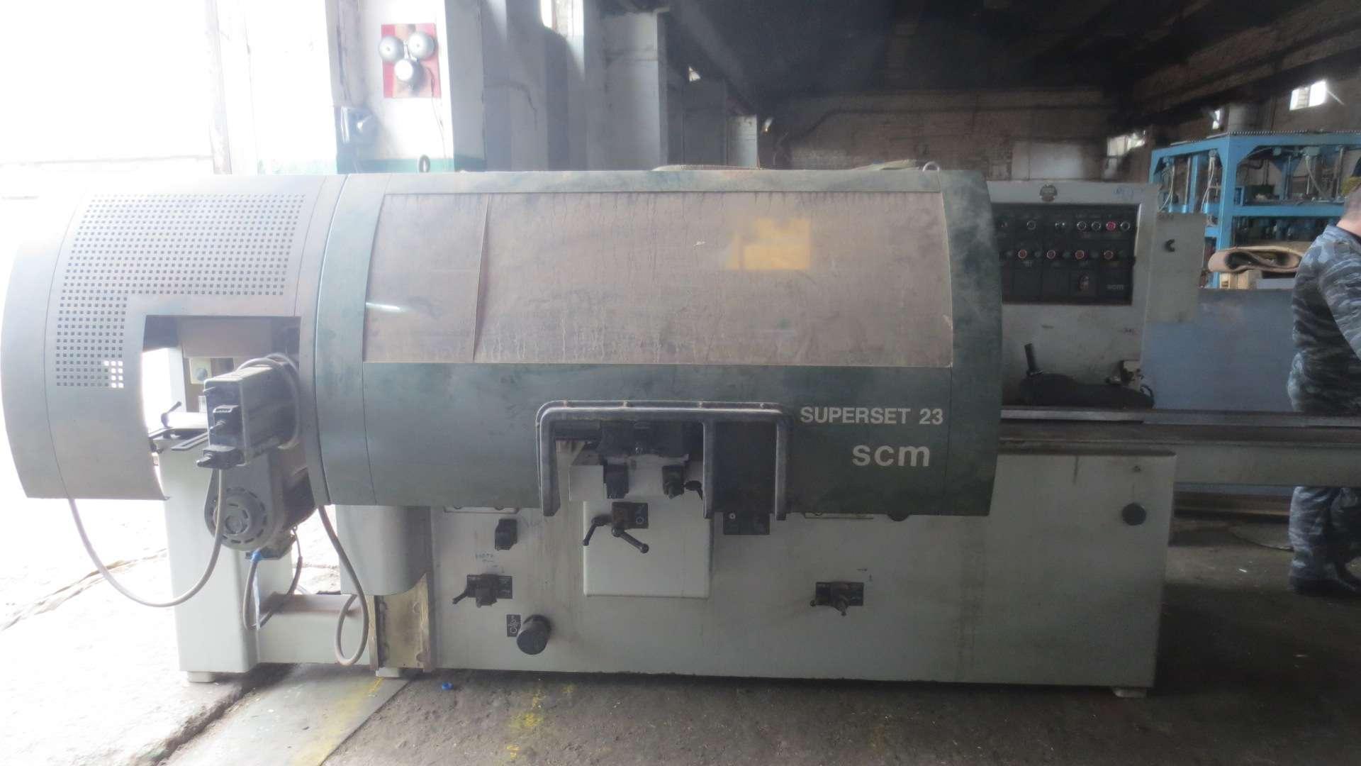 Четырехсторонний станок SCM SUPERSET 23