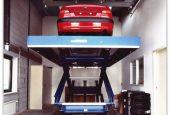Подъемный стол в гараж