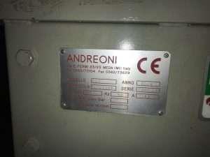 Пантограф ANDREONI ERREDI 2