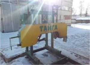 Ленточная пилорама Тайга Т-3