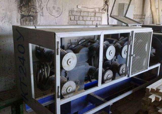 Станок для переработки тонкомера КТ-240У