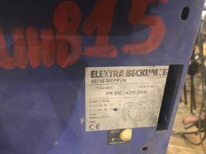 Циркулярная пила ELEKTRA BECKUM PK 300 / 4200 DNB