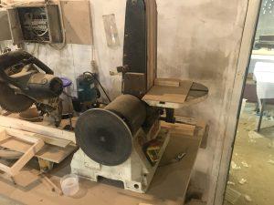 Тарельчато-ленточный шлифовальный станок JET JSG-96