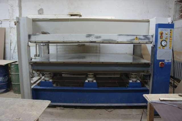 Пресс для облицовывания мебельных щитов Vario Press VP 25-100/1
