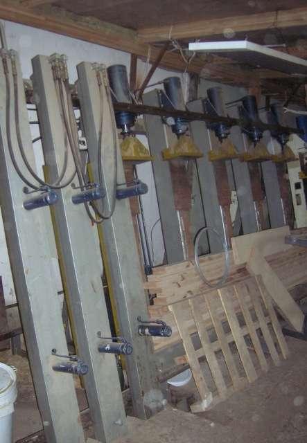 Пресс вертикальный для склеивания бруса и щита ПВС-3