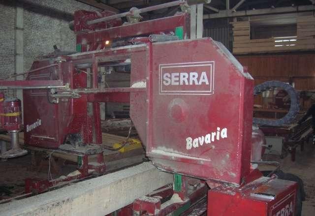 Ленточнопильный станок SERRA Bavaria SL110i