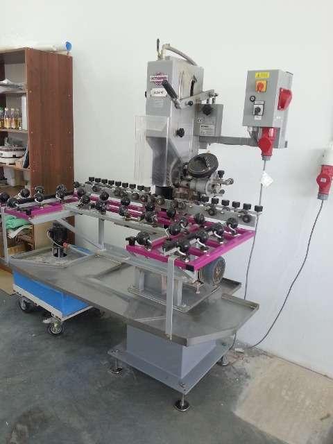 Станок ленточно-шлифовальный для обработки кромки стекла Knopp SILIKANT 2500
