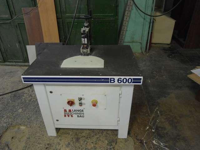 Фрезерный станок для снятия свесов LANGE MASCHINENBAU B600