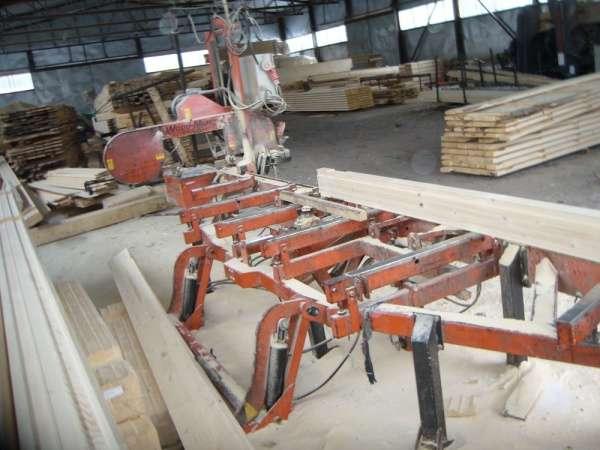 Ленточно-пильный станок для распиловки бревен Wood Mizer LT 40