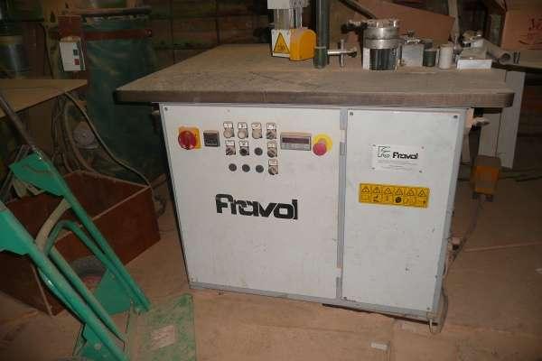 Кромкооблицовочный станок Fravol A16/S + Фрезерный станок для снятия свесов Fravol AZ/2