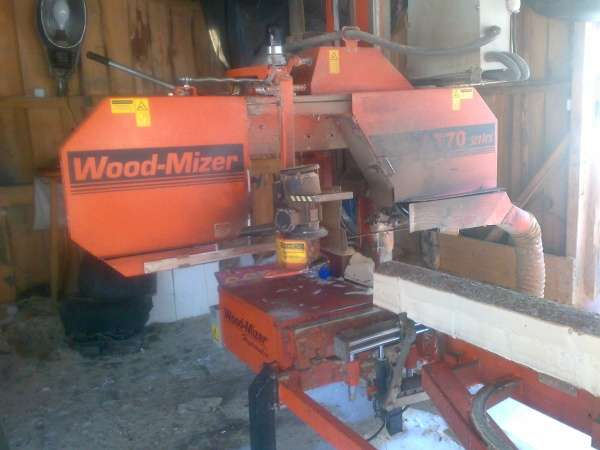 Станок ленточнопильный LT70 Wood-Mizer